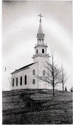 Old St. Stephen's, a church on the hill.