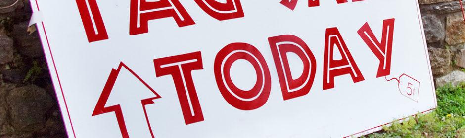 St  Stephen's Episcopal Church » Annual Tag Sale
